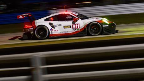 IMSA: 911 RSR on a second grid row