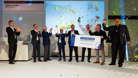Porsche Golf Cup: Great Britain wins in Majorca