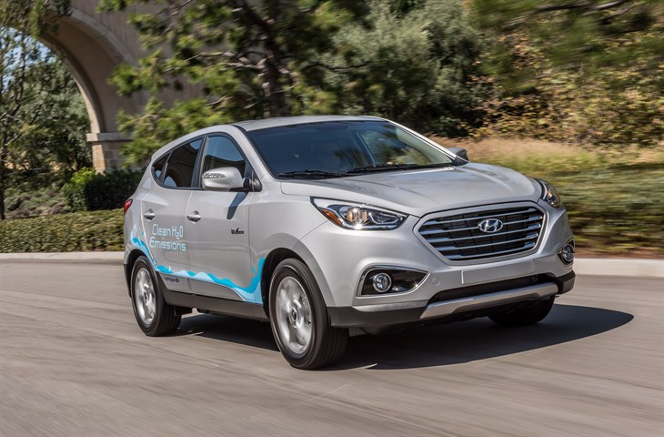 MY18 HYUNDAI TUCSON FUEL CELL - EXTENDED 2017 MODEL YEAR AVAILABILITY