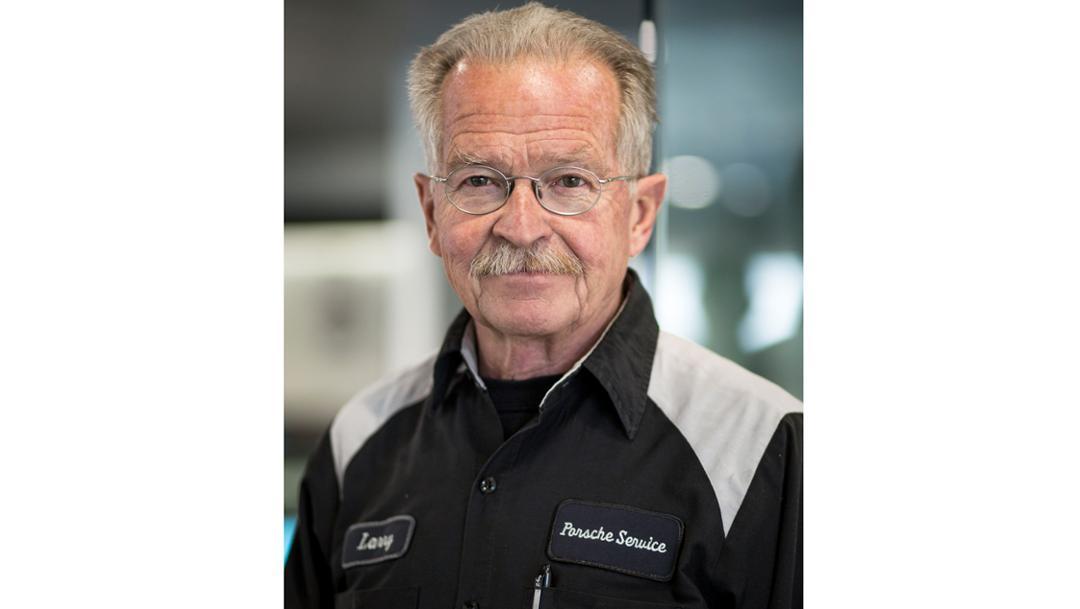 Larry Moulton, Technician, Porsche Salt Lake City, 2018, Porsche AG