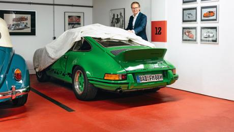 Frank Marrenbach and his 911 Carrera