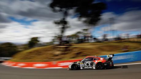 Best 911 GT3 R on a fifth grid row