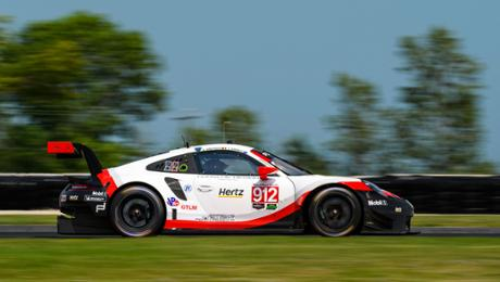 IMSA on a Road America: Victory in a GTD class