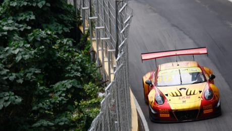 FIA GT World Cup: Porsche scores fourth during Macau