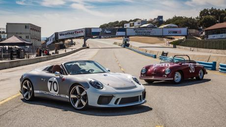 911 Speedster Concept fascinates US audience