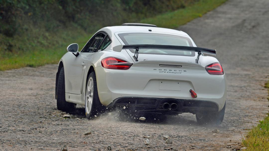 Concept investigate Cayman GT4 Clubsport, 2018, Porsche AG