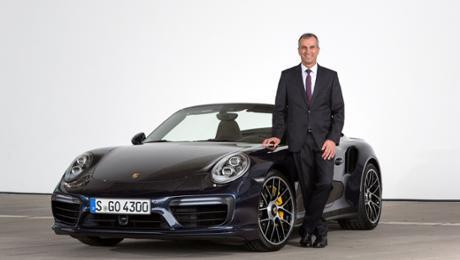 Porsche AG extends Albrecht Reimold's contract