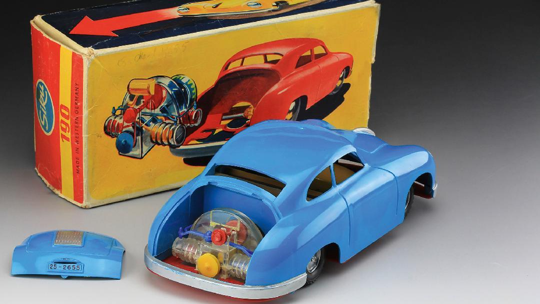 SIKU-model 356 in a scale of 1:16 (1955), 2018, Porsche AG