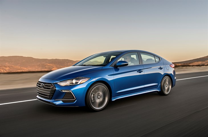HYUNDAI ELANTRA TOPS SEGMENT IN J.D. POWER TECH-EXPERIENCE STUDY