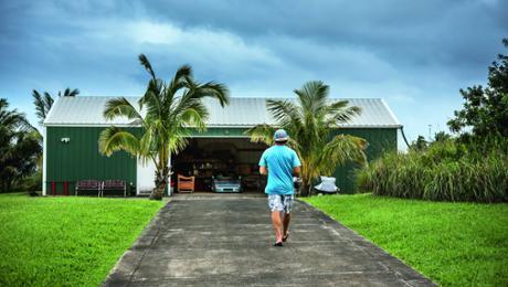 The Garage of Surf-Star Robby Naish