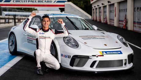 Jaxon Evans and Julien Andlauer named as 2019 Porsche Juniors