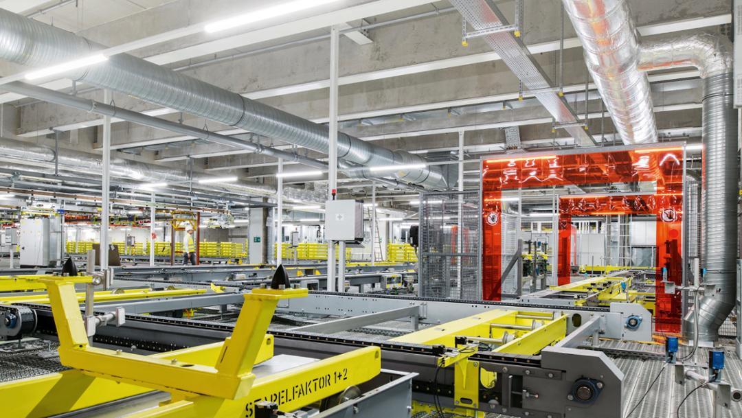 Body shop, Zuffenhausen, 2018, Porsche AG