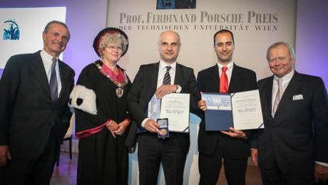 Professor Ferdinand Porsche Prize was awarded