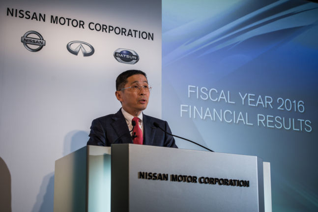Nissan reports Full-Year formula for mercantile year 2016