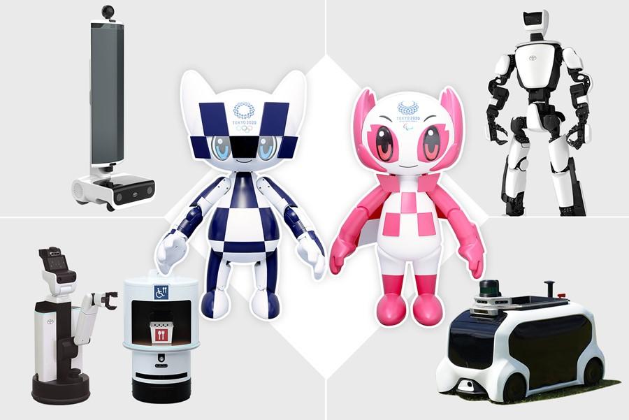 Olympic 2020 Robots
