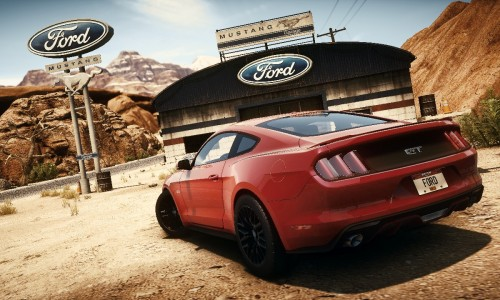 The 2015 all-new Mustang is a playable car in Need For Speed Rivals.