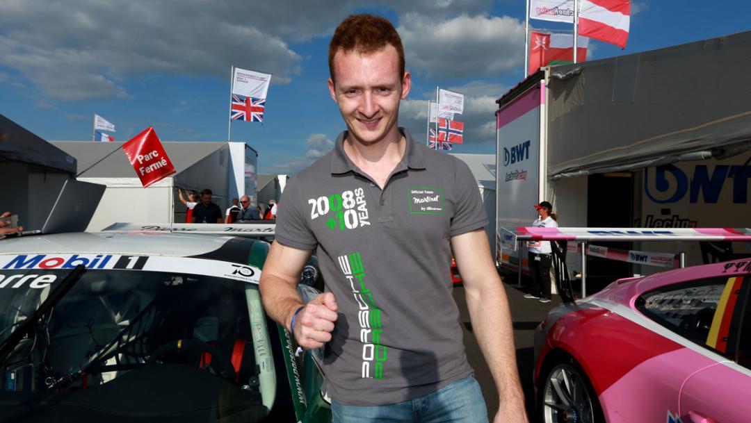 Florian Latorre, 911 GT3 Cup, Porsche Mobil 1 Supercup, Silverstone, Qualifying, 2018, Porsche AG