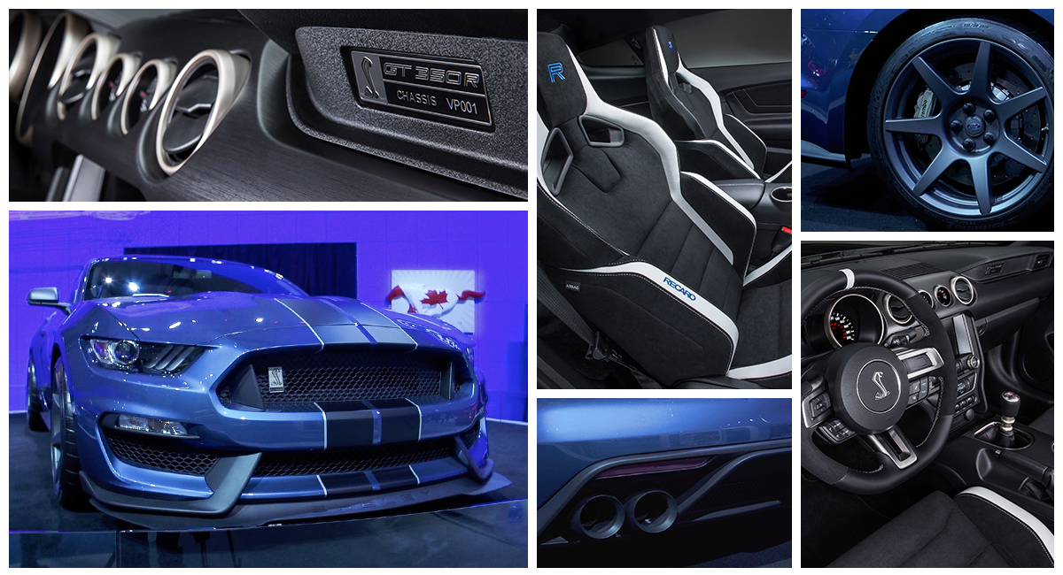 The new Shelby GT350R Mustang