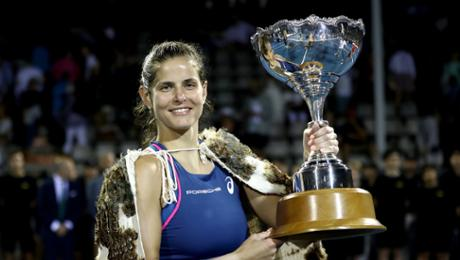 Julia Görges wins WTA contest in Auckland