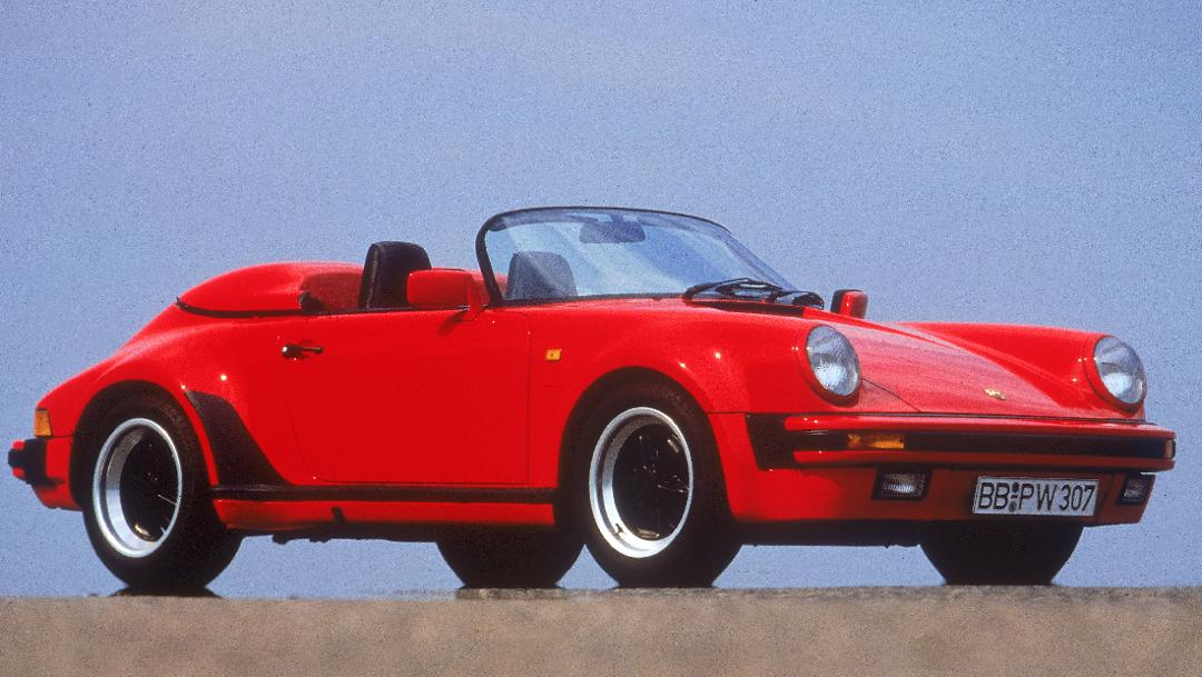 911 Carrera 3,2 Speedster (Turbolook, 1989), Porsche AG