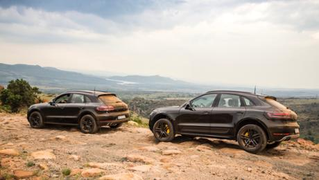 The new Macan in high-altitude training