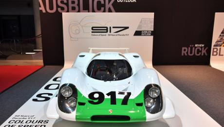 "Porsche celebrates ""50 years of a 917"""
