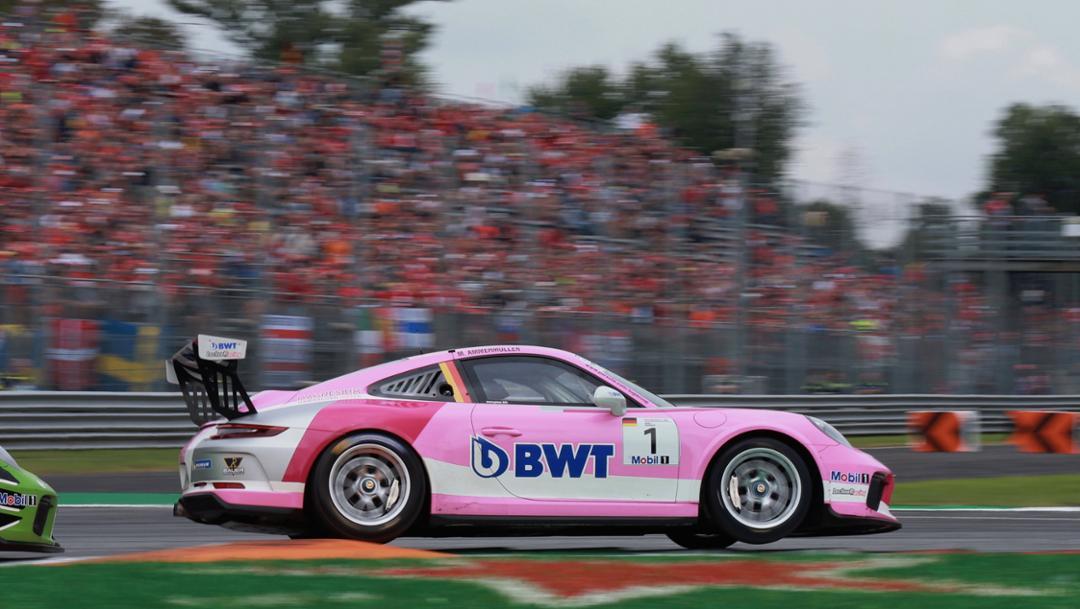 911 GT3 Cup, race, Porsche Mobil 1 Supercup, Monza, 2018, Porsche AG
