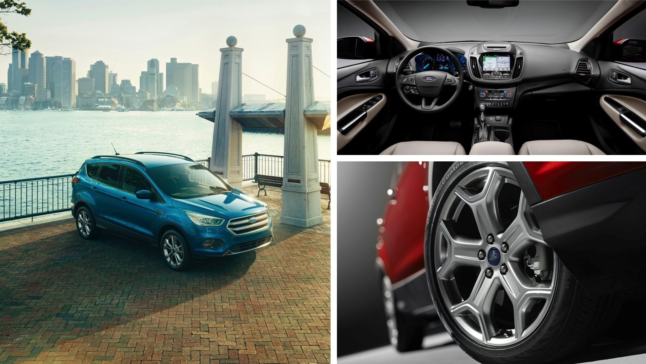 2017 Ford Escape Image Collage