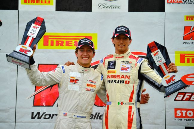 Pair of podiums for GT Academy motorist in Pirelli World Challenge