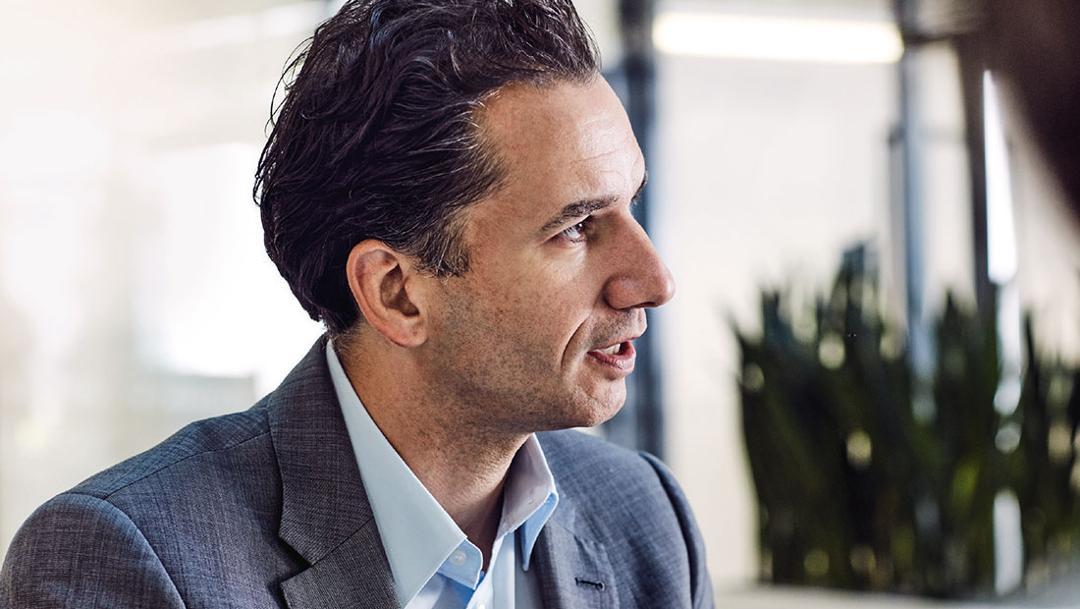 Michael Kiefer, Director of High-Voltage Systems during Porsche Engineering, 2018, Porsche AG