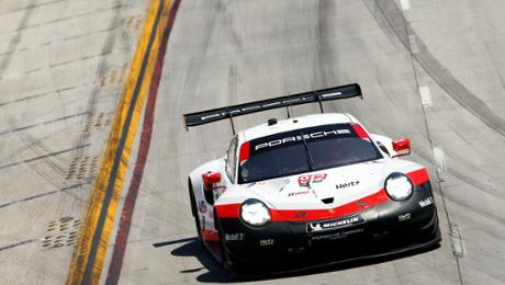 Strong opening of a 911 RSR goes unrewarded