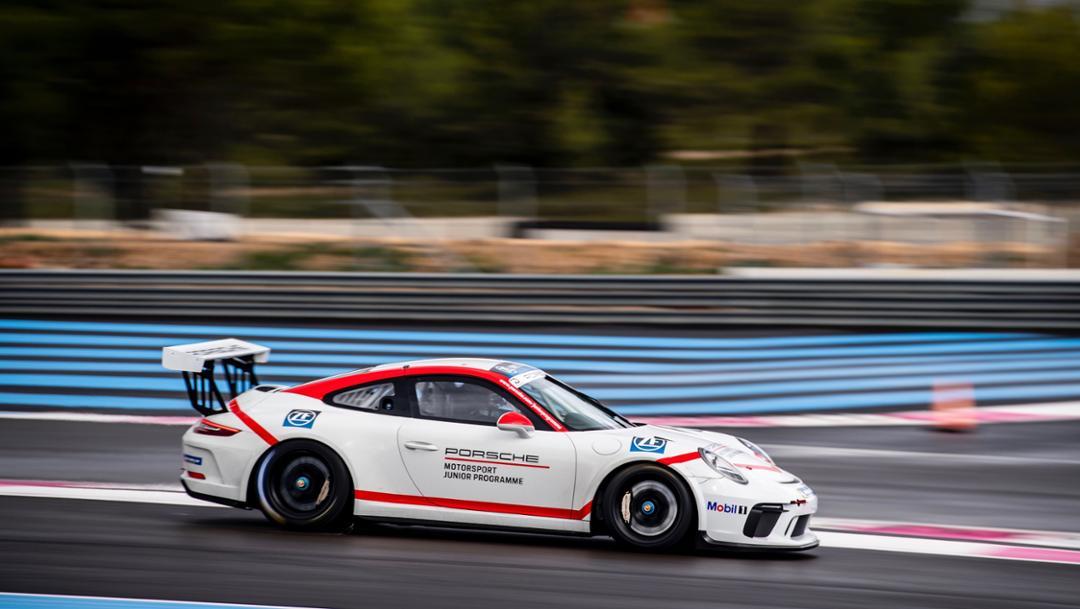 911 GT3 Cup, Porsche Junior preference process, Le Castellet, France, 2018, Porsche AG
