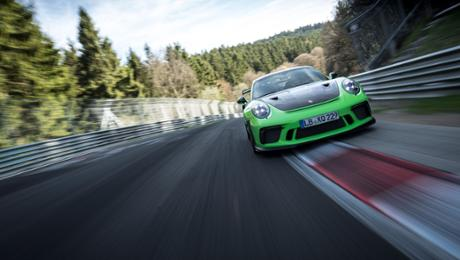 New 911 GT3 RS sets a path time of 6:56.4 minutes
