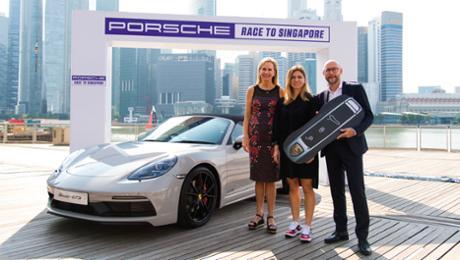 Porsche extends successful partnership with a WTA