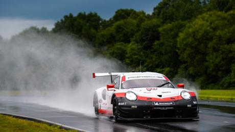 IMSA: First grid quarrel for Porsche 911 RSR in Virginia