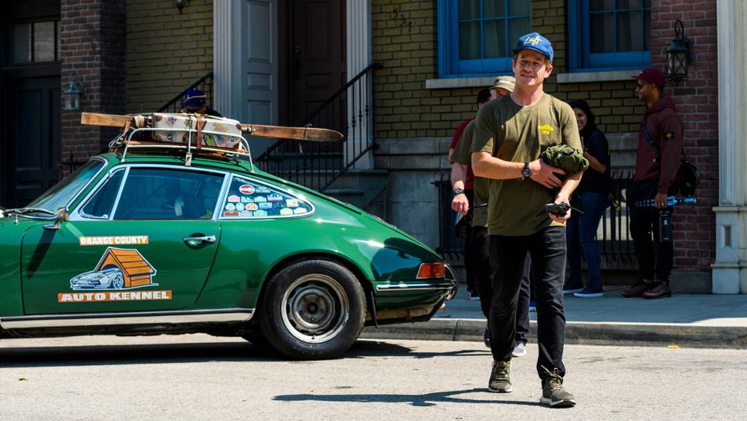 Patrick Long, Luftgekühlt 6, Universal Studios backlot, Los Angeles, 2019, Porsche AG