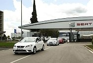 First SEAT Leon TGIs leave Martorell