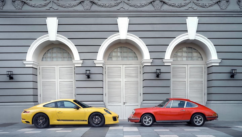 911 Carrera T, 911T, l-r, 2018, Porsche AG