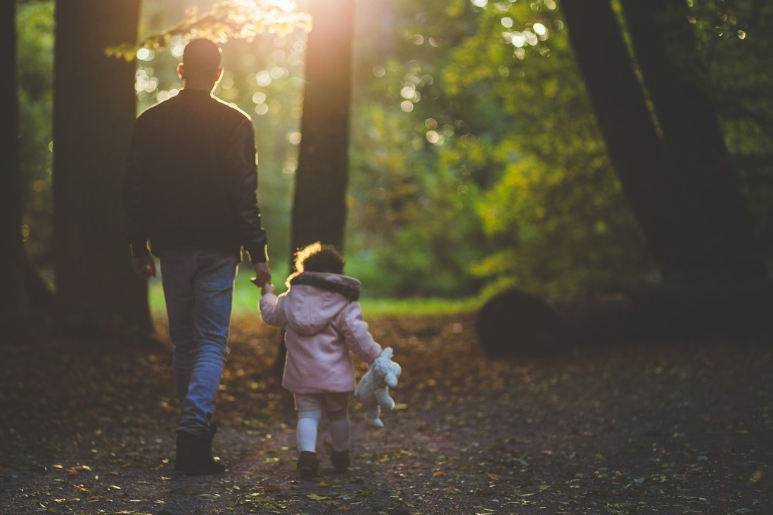 Walking outside can help sickness like cold and flu