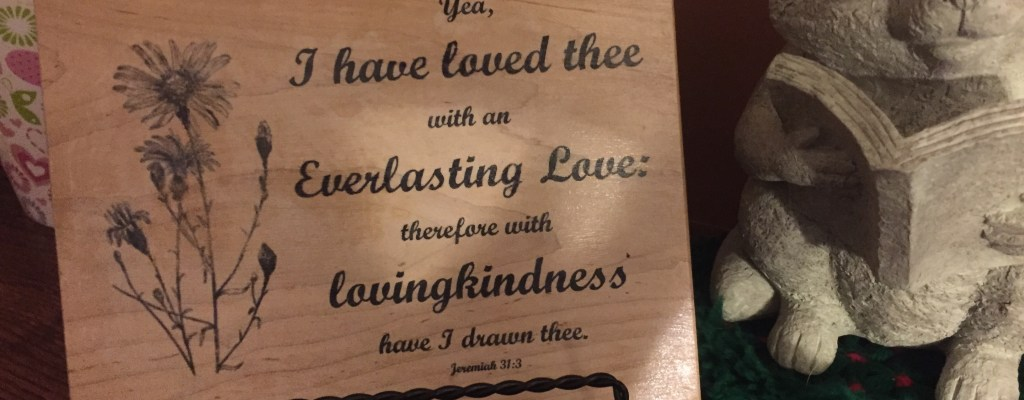 wooden scripture plaque
