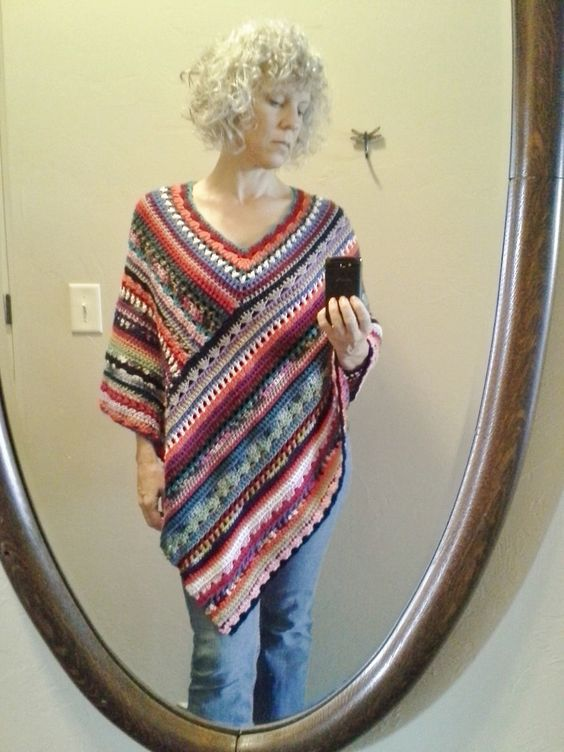 molly poncho by Stacey Lonzono