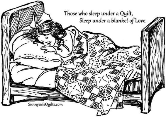 Quilts to keep bed warm