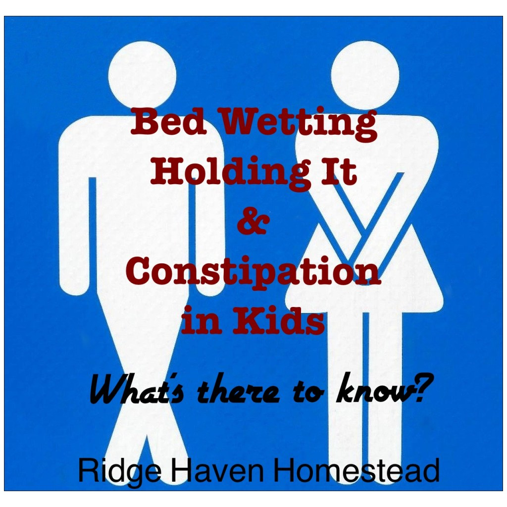 Bed wetting kids