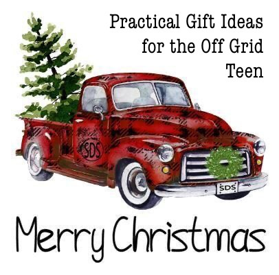 Gift ideas off grid teen tag