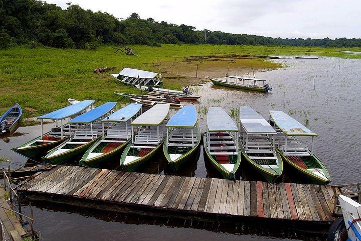 Amazon River village