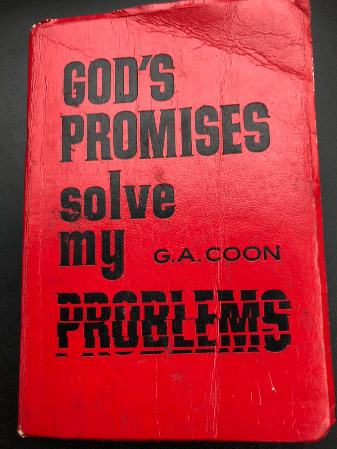 God's Promises solve my problems