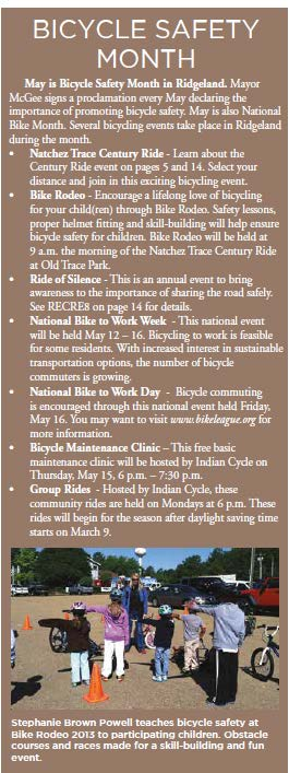 Bicycle Safety Month