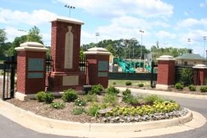 Wolcott Park and playground