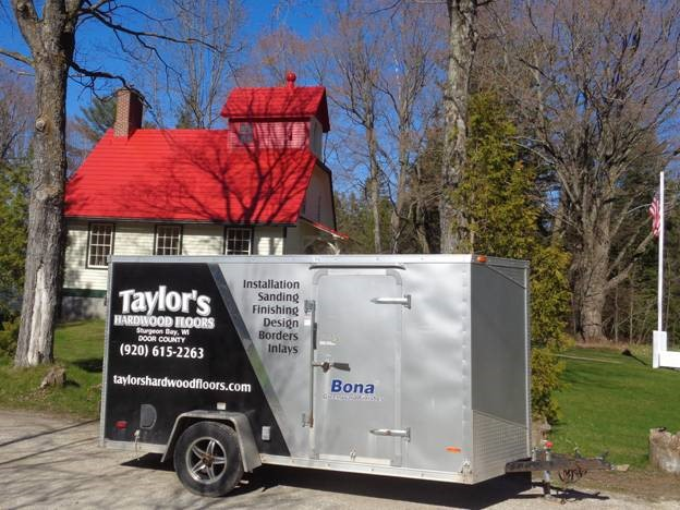 Our flooring contractor – Taylor's Hardwood Floors