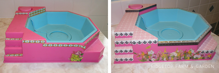 Dollhouse Hot Tub
